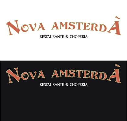 Logotipo Nova Amsterdã Restaurante e Choperia