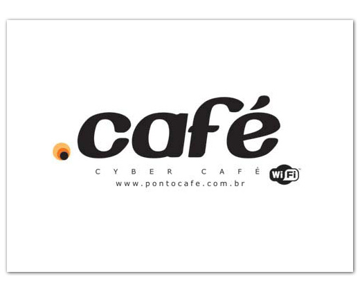 Identidade visual Ponto Café Br3 Site sites cases image