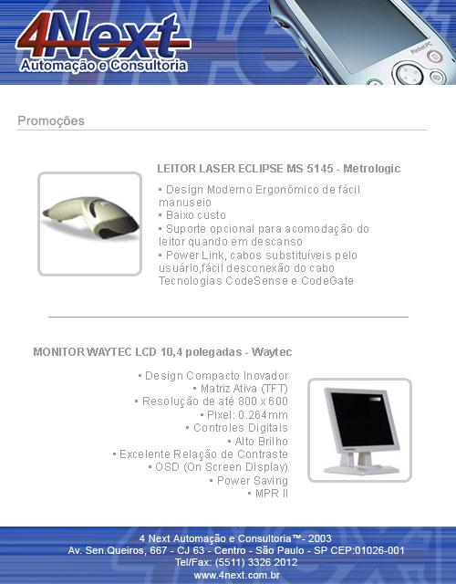 E-mail marketing Promoções 4Next