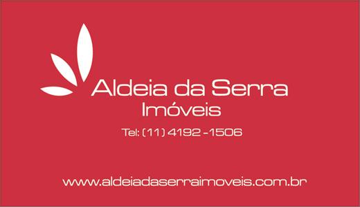 Cartão de visita Aldeia da Serra Imóveis