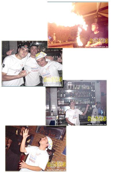 Bartenders na Festa Taboó