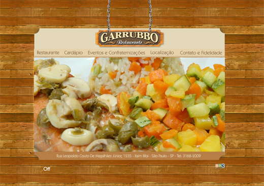 Site Garrubbo e Cardeal Restaurante Ltda Br3 Site sites cases image