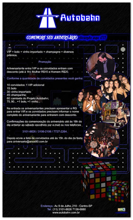 E-mail Marketing Aniversário Autobahn Br3 Site sites cases image