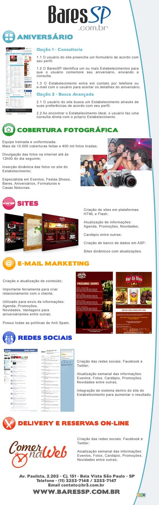 E-mail marketing de divulgação