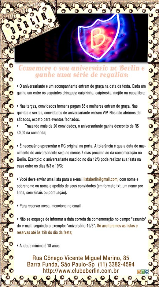 E-mail marketing de aniversário Br3 Site sites cases image