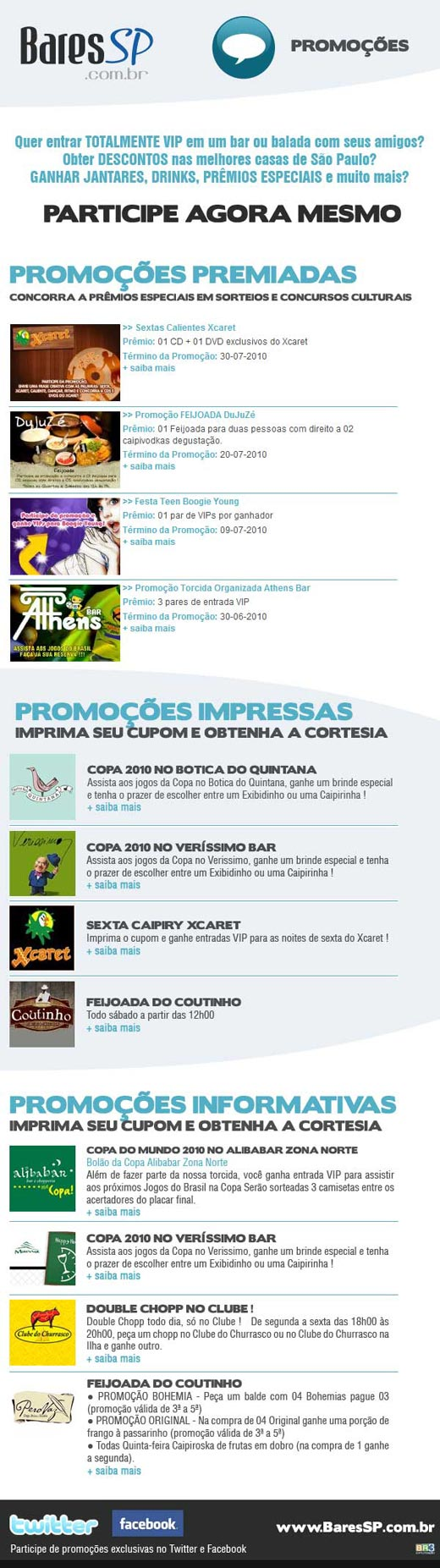 E-mail marketing Promoções Br3 Site sites cases image