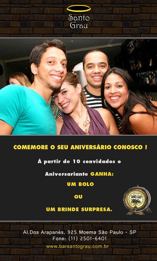 E-mail marketing de aniversário