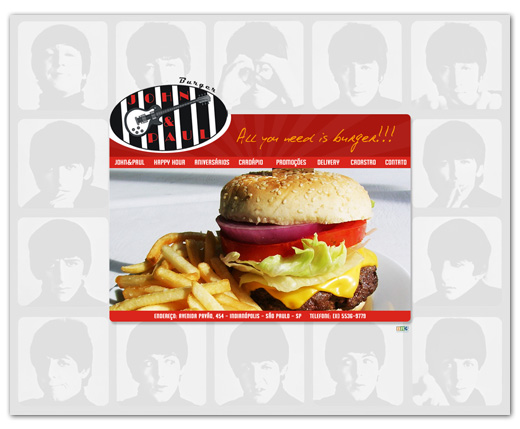 Site Jonh & Paul Burger