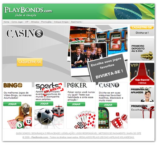 Site Playbonds
