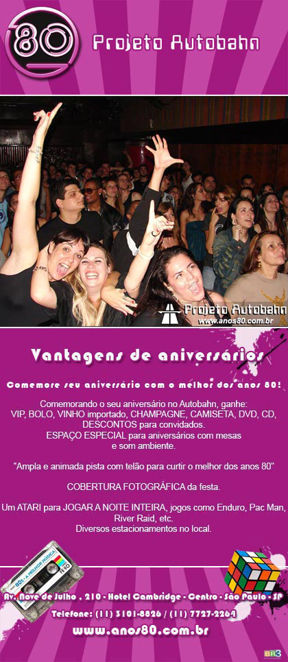 E-mail marketing de aniversário Autobahn Br3 Site sites cases image