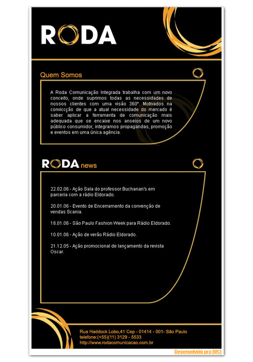 E-mail Marketing Roda