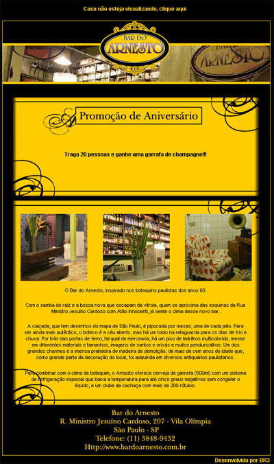 E-mail marketing Bar do Arnesto Br3 Site sites cases image