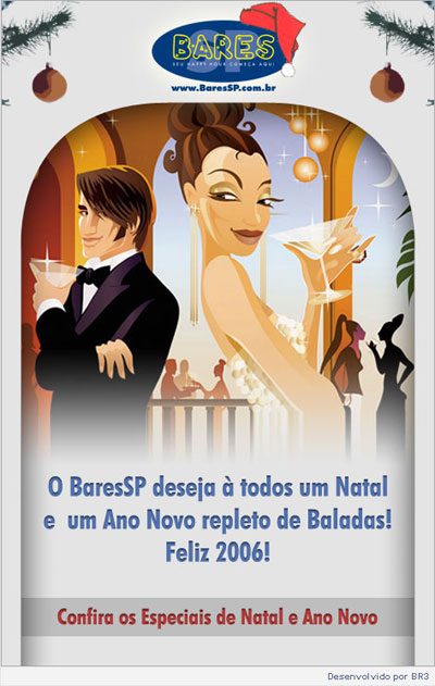 E-mail Marketing BaresSP de Natal Br3 Site sites cases image