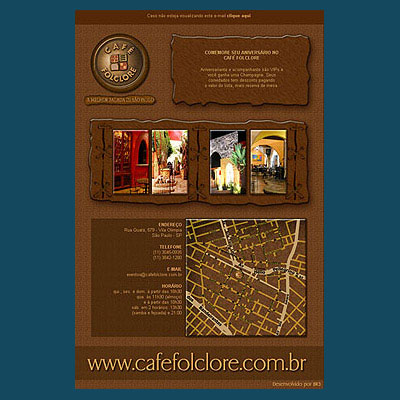 E-mail Marketing Café Folclore Br3 Site sites cases image