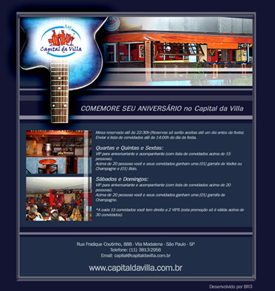 E-mail Marketing Capital da Villa Br3 Site sites cases image