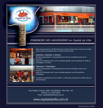 E-mail Marketing Capital da Villa