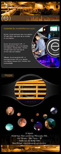 E-mail marketing E-Muzik Br3 Site sites cases image