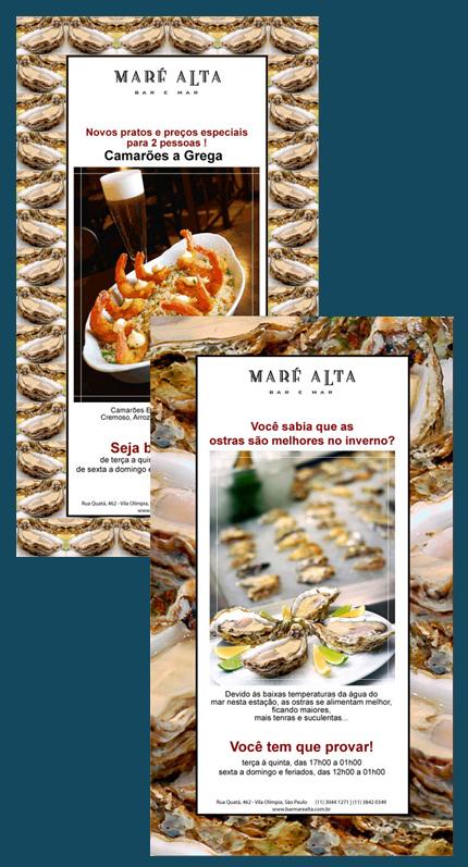 E-mail marketing Ostras Maré Alta