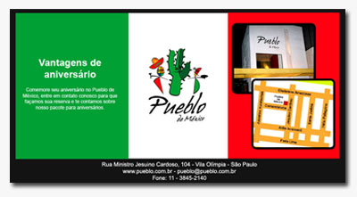 E-mail marketing Pueblo de México
