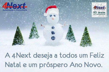 E-mail marketing de Natal 2007 4Next