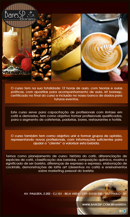 E-mail marketing BaresSPBarista