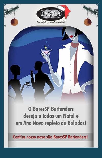 Cartão de Natal - BaresSP Bartenders