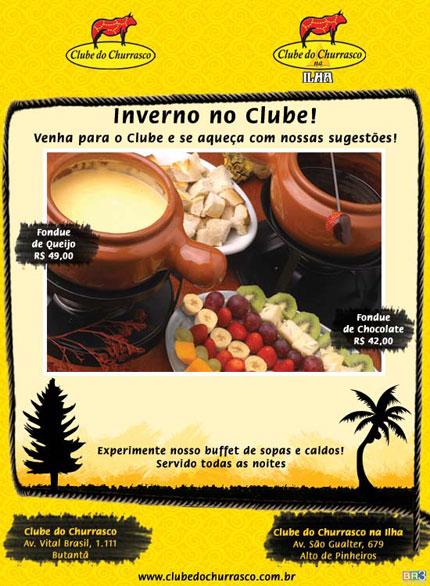 E-mail mkt Clube do Churrasco e Clube do Churrasco na Ilha