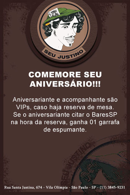 E-mail marketing de aniversário Seu Justino Br3 Site sites cases image
