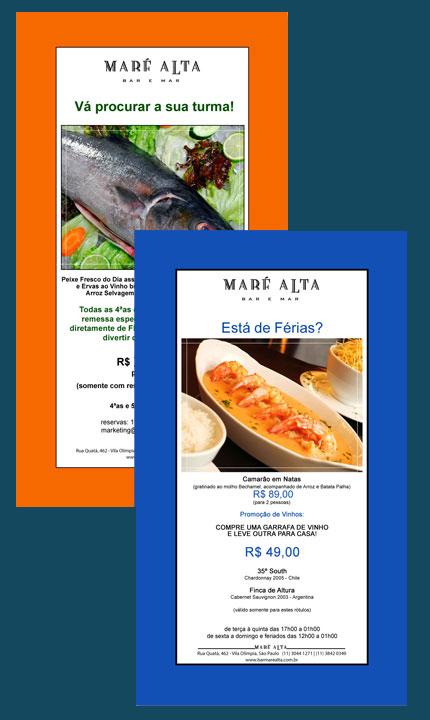 E-mail marketing Borda Color Maré Alta