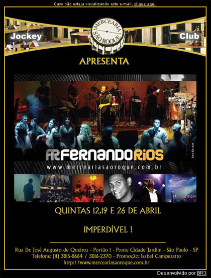 E-mail marketing Mercearia Jockey Clube