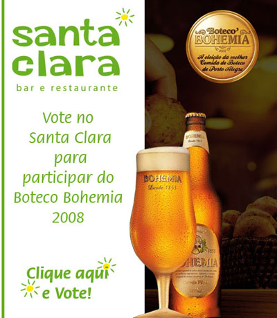 E-mail marketing Santa Clara - Boteco Bohemia.