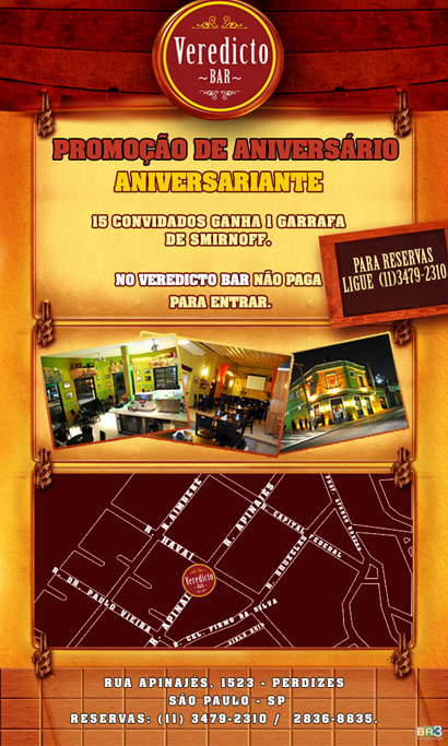 E-mail marketing de aniversário Veredicto