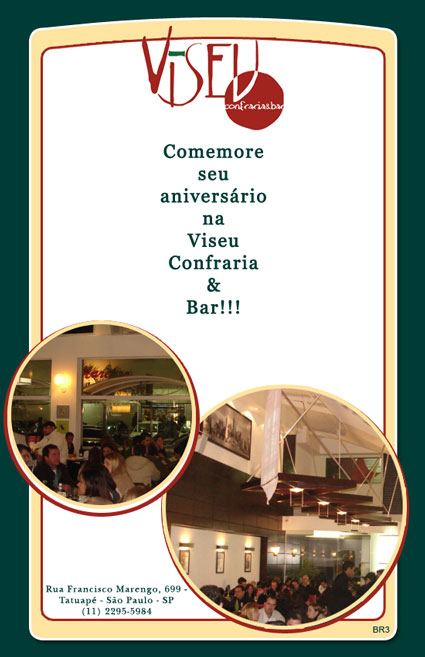 E-mail marketing de aniversário Viseu