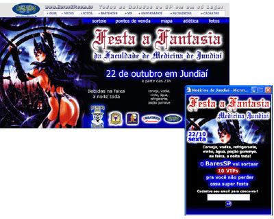 Hot Site  da Festa a Fantasia da Medicina de Jundiaí Br3 Site sites cases image