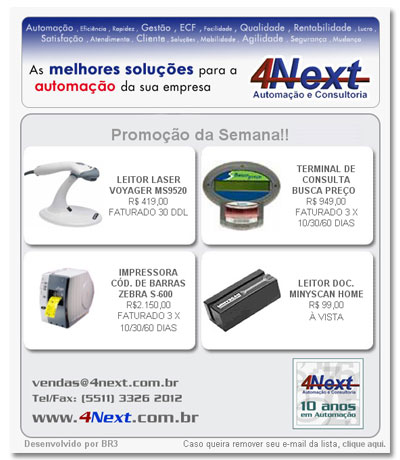 E-mail marketing 4next