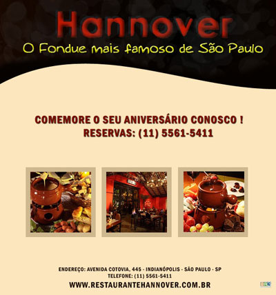 E-mail marketing de aniversário Hannover