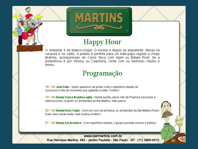 E-mail Marketing Bar Martins