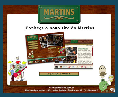 E-mail Marketing Site Bar Martins