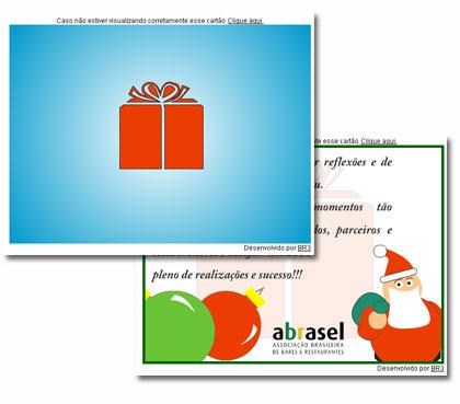 Cartão de Natal - AbraselSP