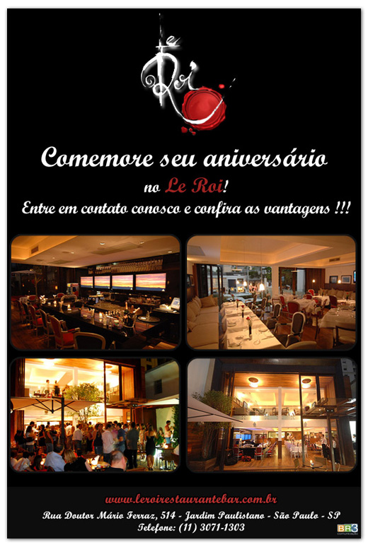 E-mail marketing de aniversário Le Roi Br3 Site sites cases image