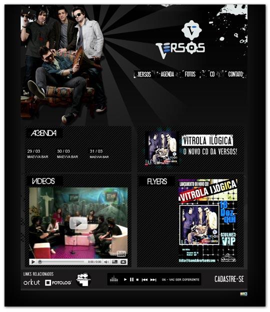 Site Banda Versos