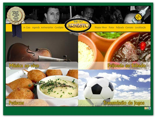 Novo Site Bar do Arnesto. Br3 Site sites cases image