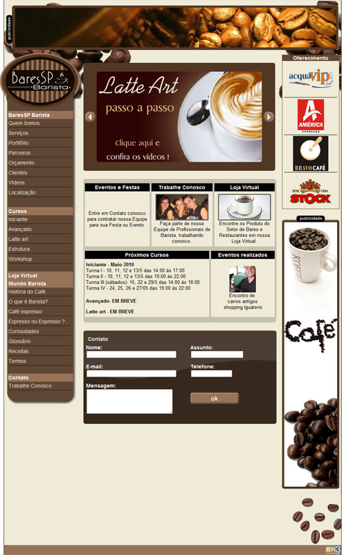 Site BaresSP Barista Br3 Site sites cases image