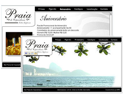 Site Bar Praia