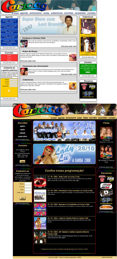 Site do Carioca Club Br3 Site sites cases image