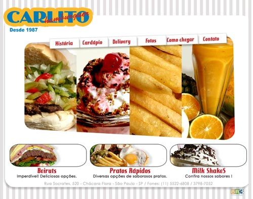 Site Carlito Hamburguer Br3 Site sites cases image