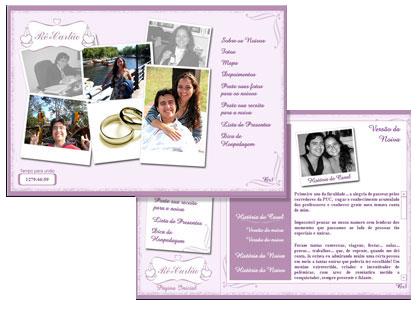 Site Casamento Renata e Carlos