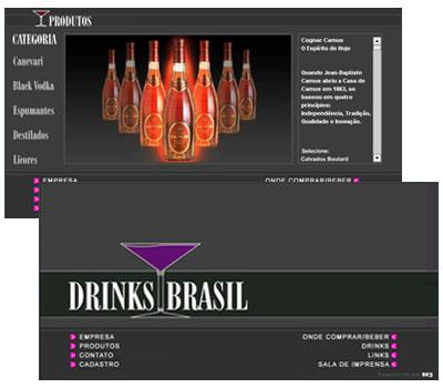 Site Drinks Brasil