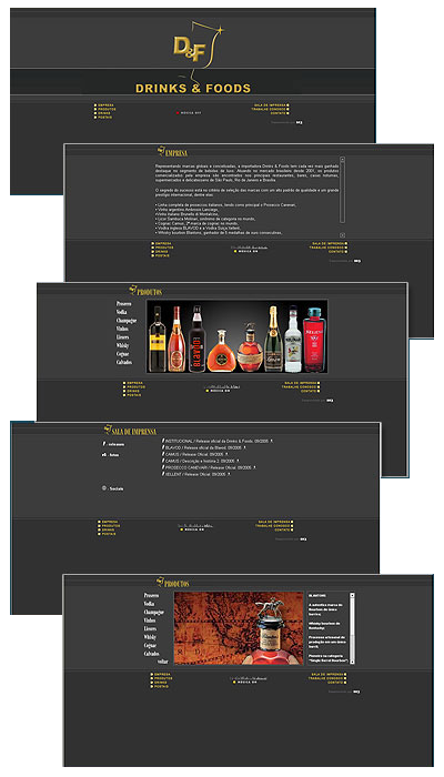 Site Drinks & Foods Br3 Site sites cases image