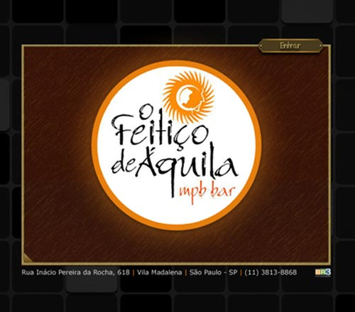 Site Feitiço de Áquila